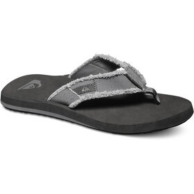 Quiksilver Monkey Abyss Sandalias Hombre, grey/black/brown
